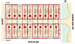 Site Plan as of 6.4.2019