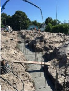 Pouring footers   7-15-16
